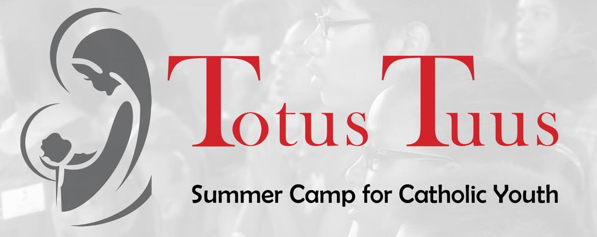 Image result for totus tuus summer program