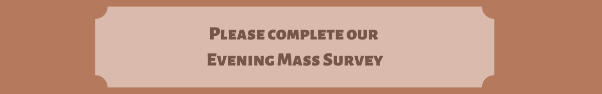 Evening Mass Survey